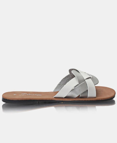Slip On Sandals - White - Belladeem
