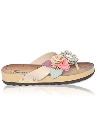 Casual Sandals - Beige - Belladeem