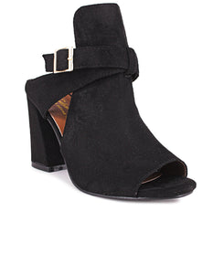 Block Heels - Black - Belladeem