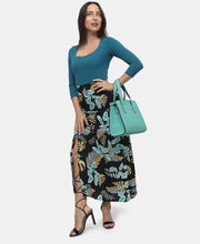 Load image into Gallery viewer, Maxi Skirt - Blue - Belladeem