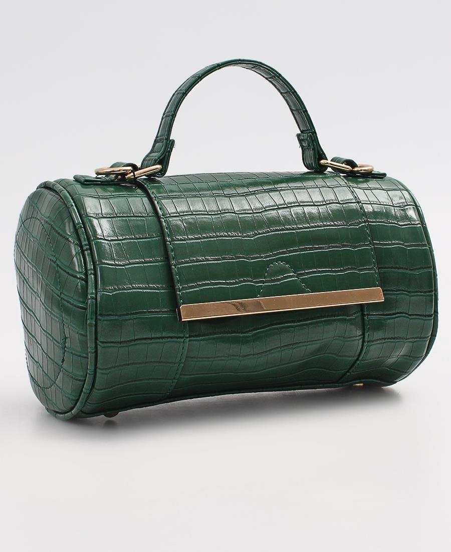 Mini Barrel Bag - Green