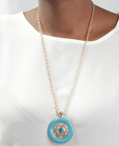 Statement Chain - Blue - Belladeem