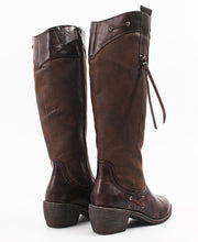 Load image into Gallery viewer, Knee High Boots - Brown - Belladeem