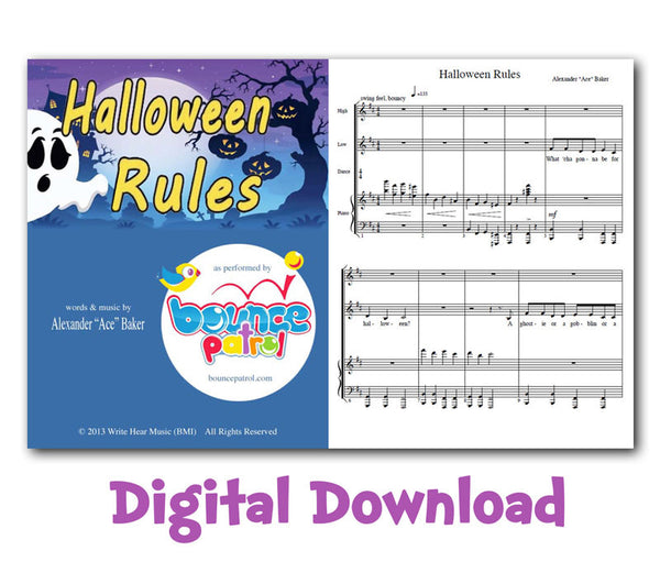 Halloween Rules Sheet Music