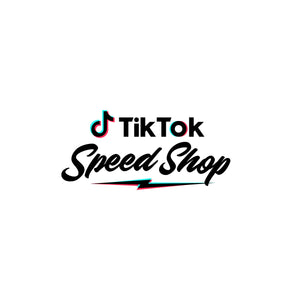 TikTok Speed Shop Rope Hat - White