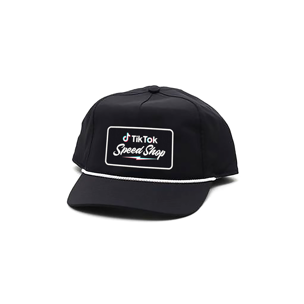 TikTok Speed Shop Old School Rope Hat - Black