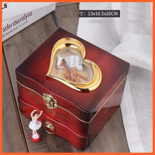 whatagift.com.au 02 Musical Jewellery Storage Box with Dancing Ballerina