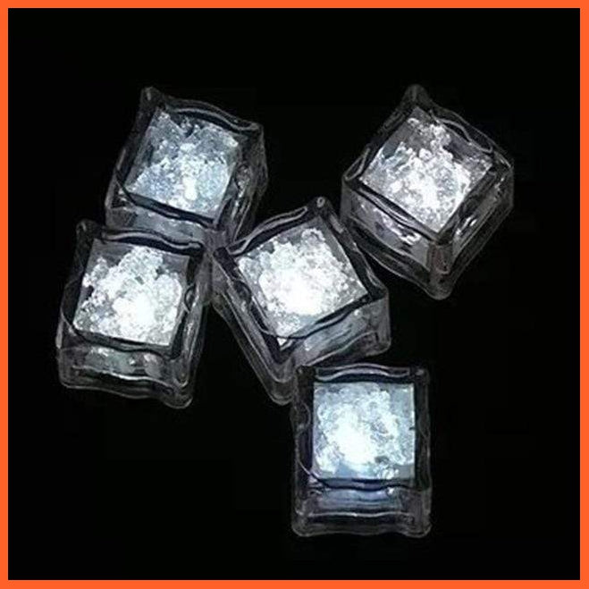 New Colorful Glowing Ice Cubes