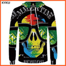 whatagift.com.au 3d hoodies 07 / S Skull Hoodie for Men