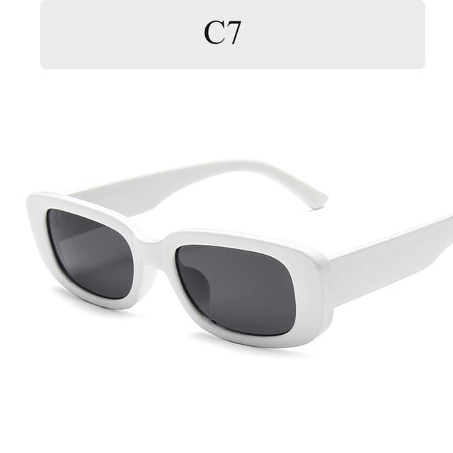 Small Rectangle Trendy Sunglasses