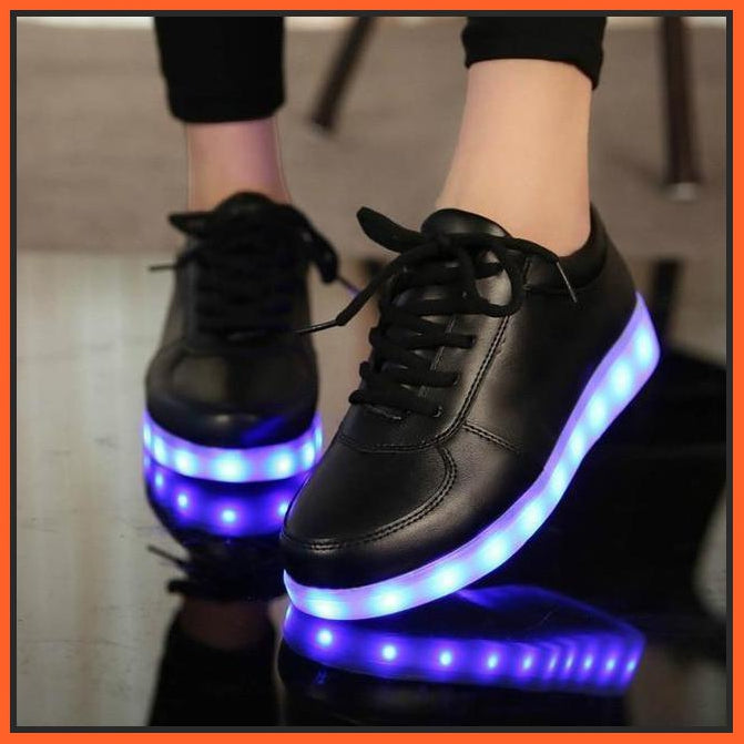 ledlegs A81-Black / 30 EU LED Shoes Pure Black
