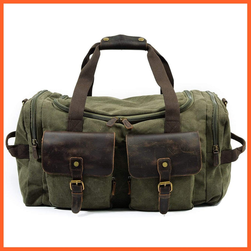 whatagift.com.au Bags & Wallets Green Large Gym Bag | Travel Bag | Storage Bag | Mens Bags |Sports Bag