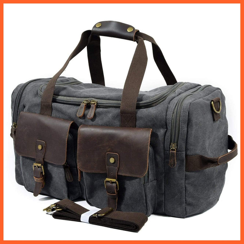 whatagift.com.au Bags & Wallets Large Gym Bag | Travel Bag | Storage Bag | Mens Bags |Sports Bag
