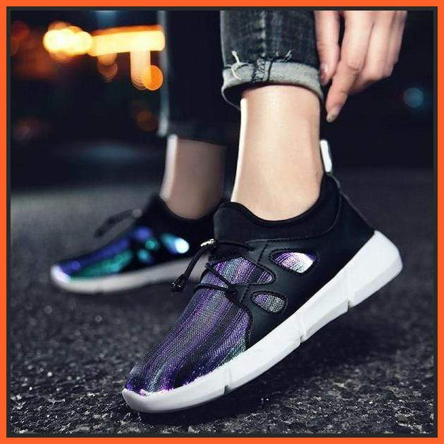 ledlegs Black / 25 EU Fully Luminous Sneakers Casual Shoes Black