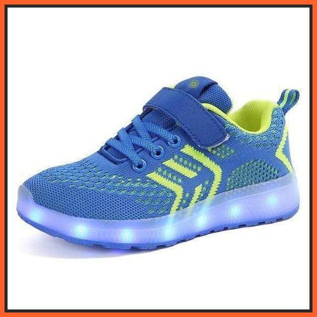 ledlegs Blue / 30 EU LED Shoes Casual Single Strap Blue