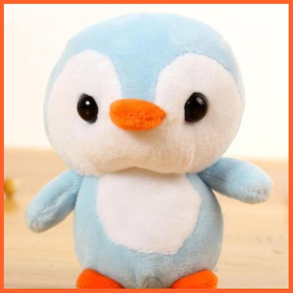 whatagift.com.au Blue / CHINA Penguin Doll Key Chain