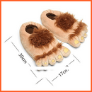 whatagift.com.au cjdrop Brown / One size Trendy Funny Retro Savage Plush Slippers