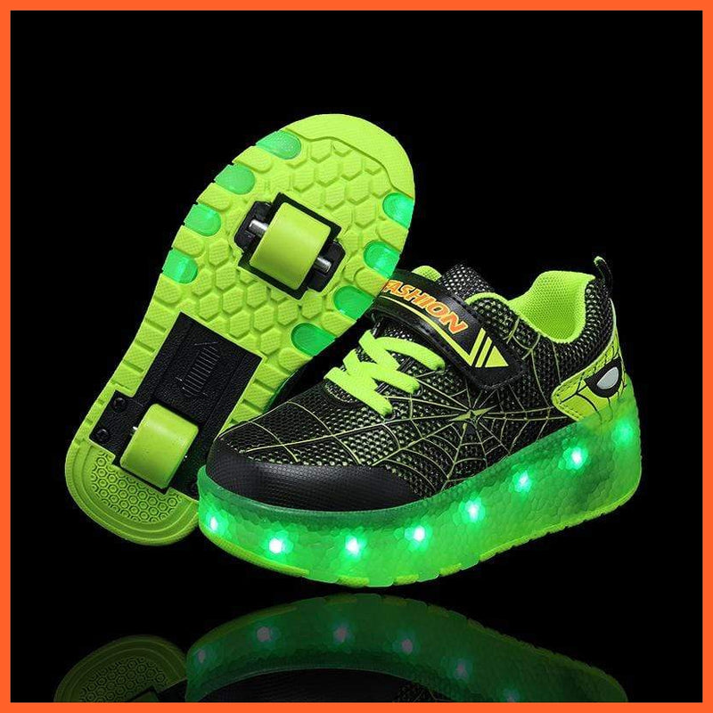 whatagift.com.au cjdrop Green / 39 Luminous Light Shoes