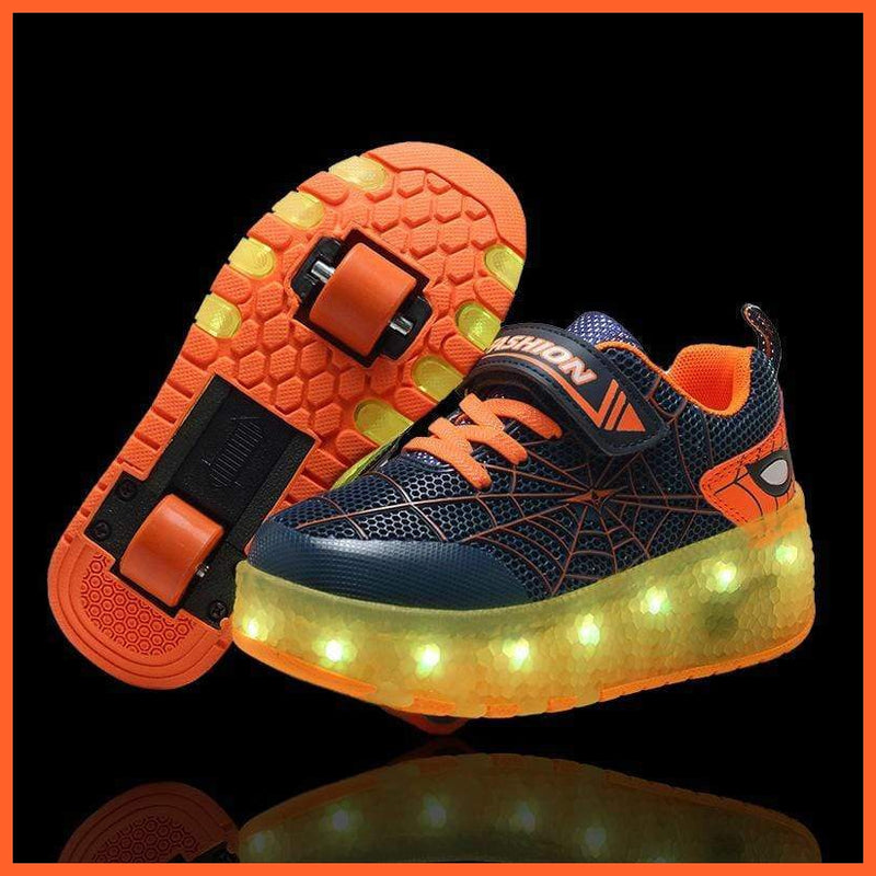 whatagift.com.au cjdrop Orange / 38 Luminous Light Shoes