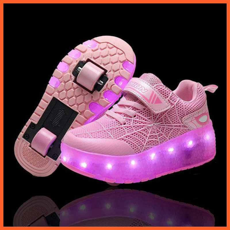 whatagift.com.au cjdrop Pink / 37 Luminous Light Shoes