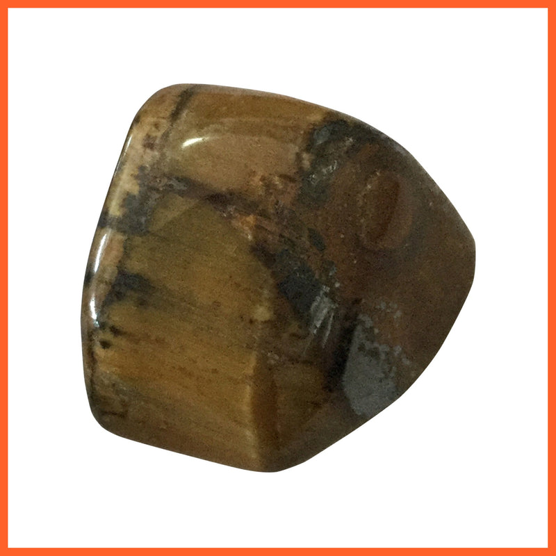 Gold Tiger Eye Tumbled Stone
