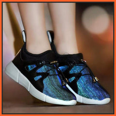 ledlegs Fully Luminous Sneakers Casual Shoes Black
