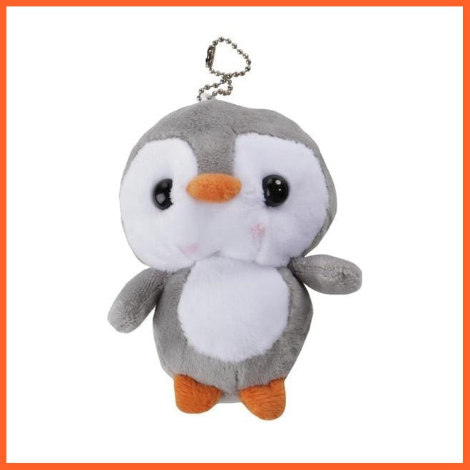 whatagift.com.au Grey / CHINA Penguin Doll Key Chain