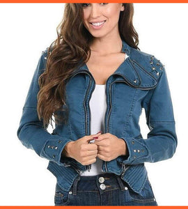Sweet Look Women's Denim Jacket - N559A