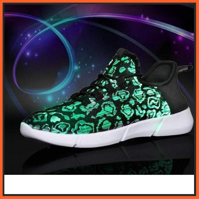 ledlegs LED Fibre Optic Sneakers Camouflage LED Shoes