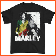 whatagift.com.au Men''s Clothing Black / XL Pop Rock Marley T-Shirt