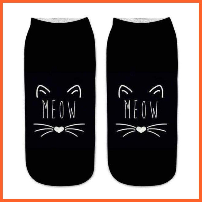 Meow Cat Socks - 3d Prints