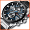 Military Waterproof Sports Watch Style Black