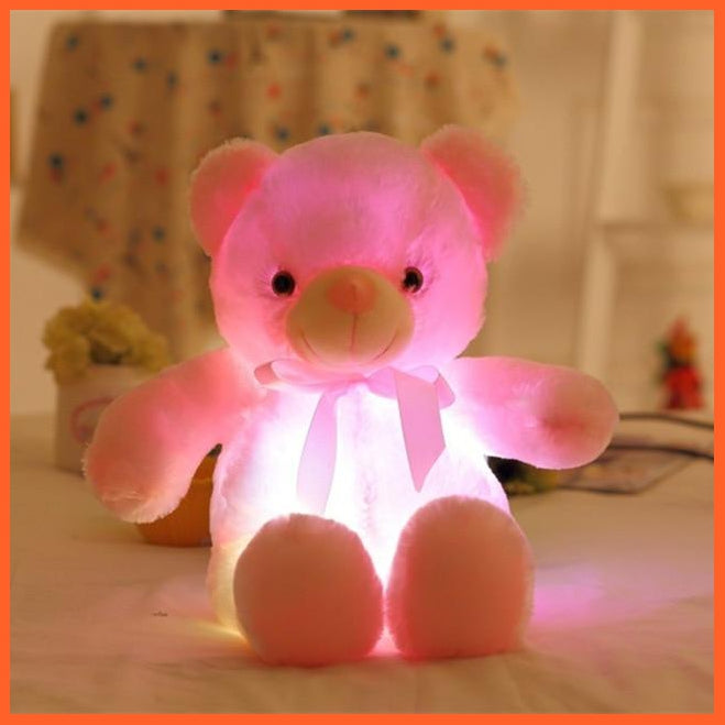 The Big Glowing Plush Teddy Bear