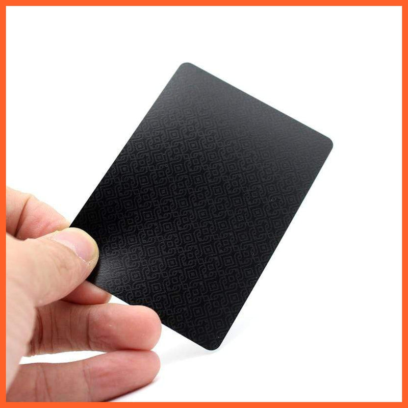 Quality Plastic PVC Poker Waterproof Cards