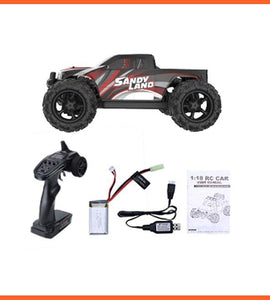 Electric Car 1:18 Scale 30+ MPH 4WD Off Road Monster Trucks