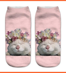 Sleeping Cat Socks - 3d Prints