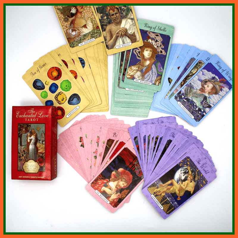 whatagift.com.au Tarot Cards Enchanted Love 78 Pcs The lovers guide