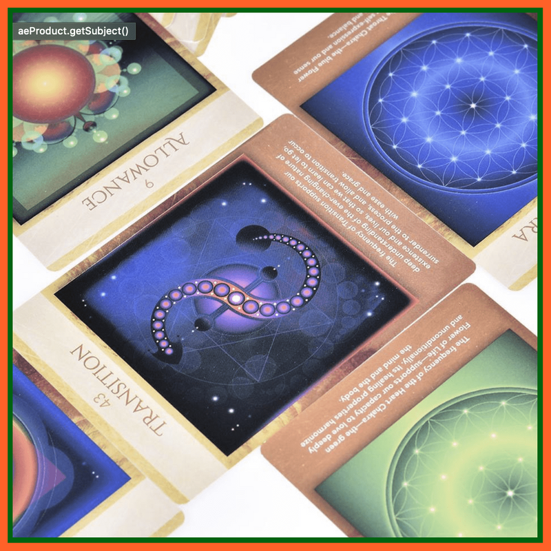 whatagift.com.au Tarot Cards Sacred Geometry Activations Oracle 44 Cards