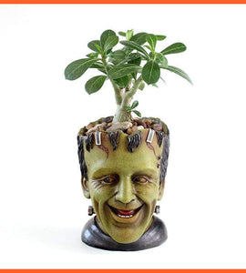 Terror Art FRANKENSTEIN Flower Pot