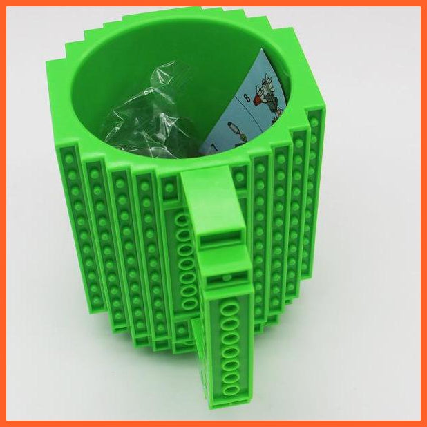whatagift.com.au Toys Green DIY Block Puzzle Mug