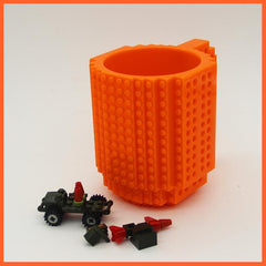 whatagift.com.au Toys Orange DIY Block Puzzle Mug