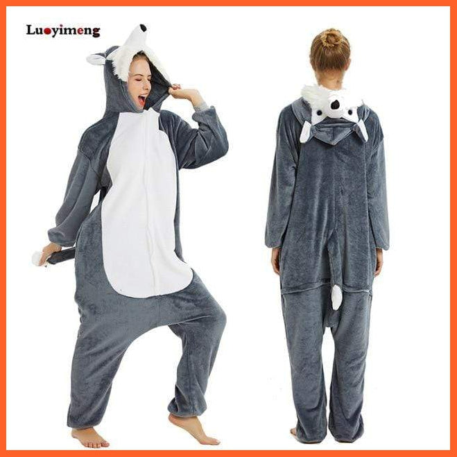 whatagift.com.au wolf / XL (179-188cm) Night Costumes - Kids and Adults