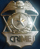 Official CRIME Badge