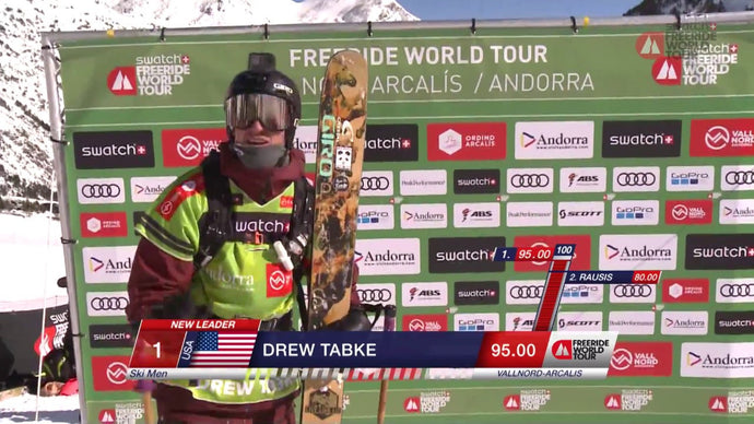 Tabke Wins FWT in Vallnord-Arcalis