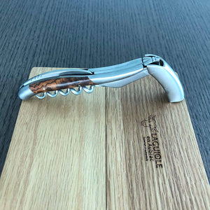 Laguiole en Aubrac Sommelier Waiter's Corkscrew with Ironwood Handle - LaguioleEnAubracShop