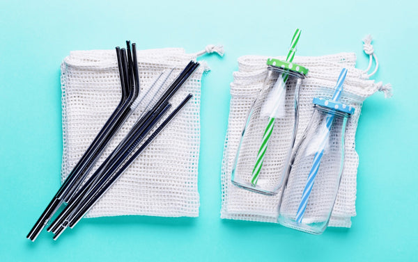 Reusable Bags, Bottles and Straws