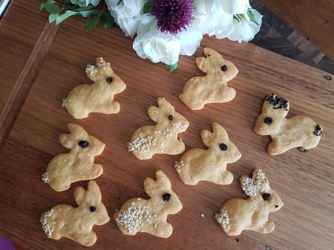 Cheesy Bunny Crackers or Biscuits