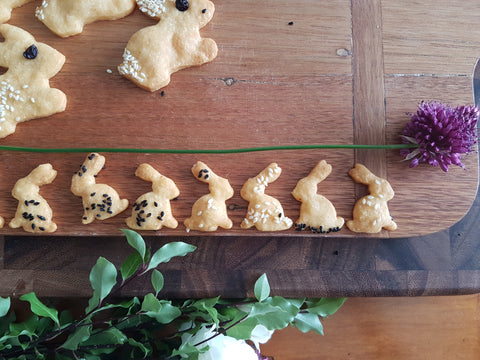 Mini Rabbit Cheese Crackers