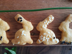 Mini Rabbit Cookies - Cheese Biscuits - Cookie Cutter Shop Australia