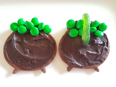 Halloween Witches Cauldron Cookies